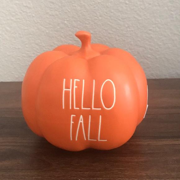Rae Dunn Other - Rae Dunn Hello Fall Pumpkin